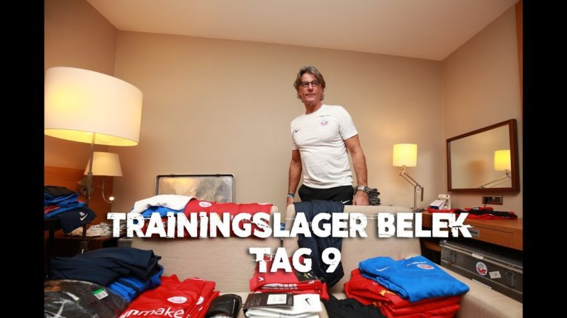 Trainingslager Belek Tag 9